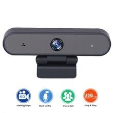 Webcam 1080P HDWeb Camera Built-in HD Microphone 1920 x 1080p CMOS senso USB 2.0 camera free drive live camera video calls 5 usb webcam 1920 1080 h 264 cmos aptina ar0330 night vision 1080p video dome infrared usb camera