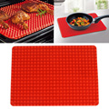 Силиконовый коврик для выпечки  устойчивая к высоким температурам пирамида  форма для выпечки  сковорода  печь для выпечки  коврик для барбе...