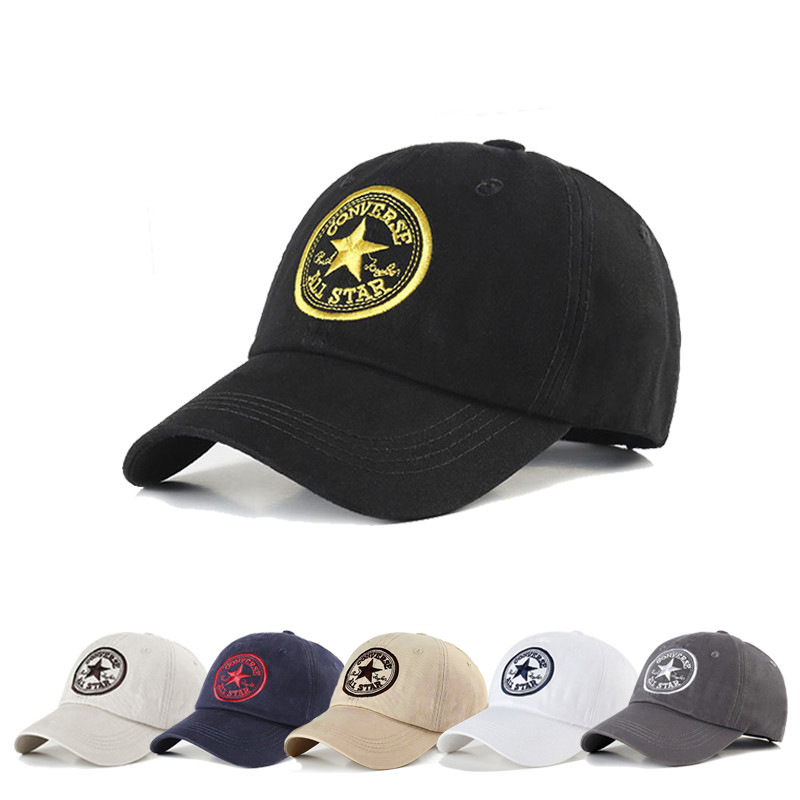 Five Star Pattern Baseball Cap For Men Women Embroidery Visors Hat Hip Hop Snapback Caps Summer Outdoor Golf Sport Hats BAG4218