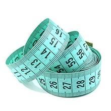 1.5m corpo régua de medição costura costureira fita medida mini suave plana régua centímetro costura fita de medição