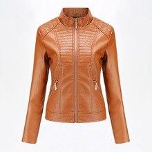 Лидер продаж; женские платья из искусственной кожи; кожаные пальто; женская кожаная куртка; повседневное весенне-осеннее пальто; однотонные локомотивы