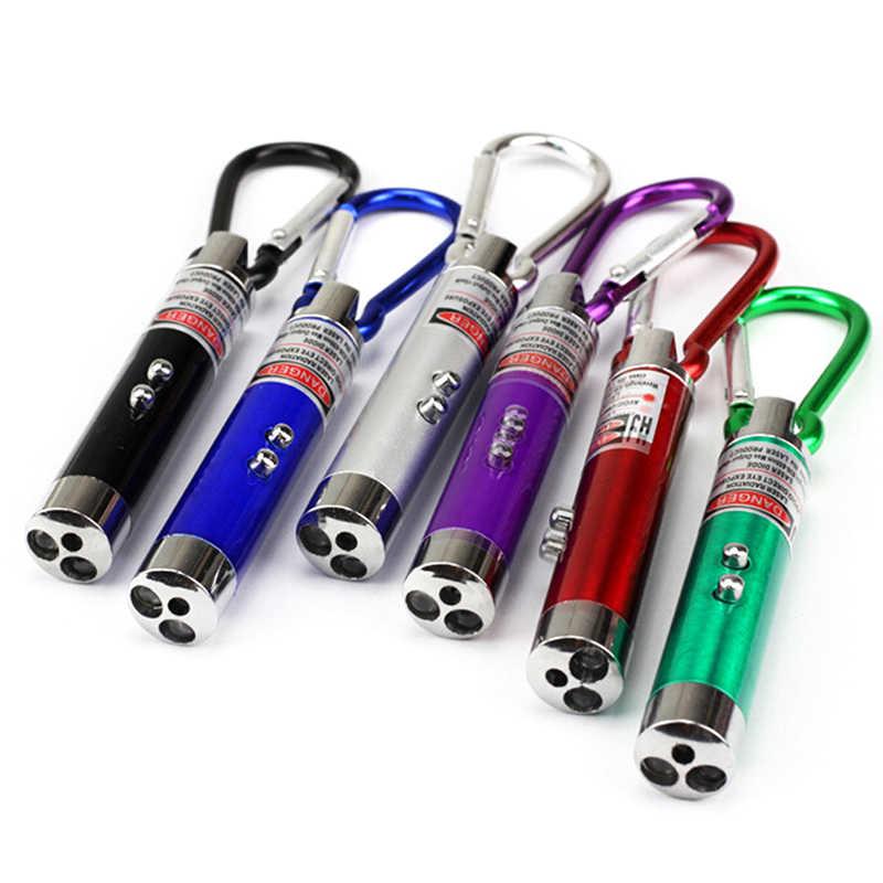 2 1 빨간 레이저 펜 7.3cm x 1.3cm 레이저 포인터 미니 led 손전등 빔 빛 포인터 작업 교육 훈련에 대 한