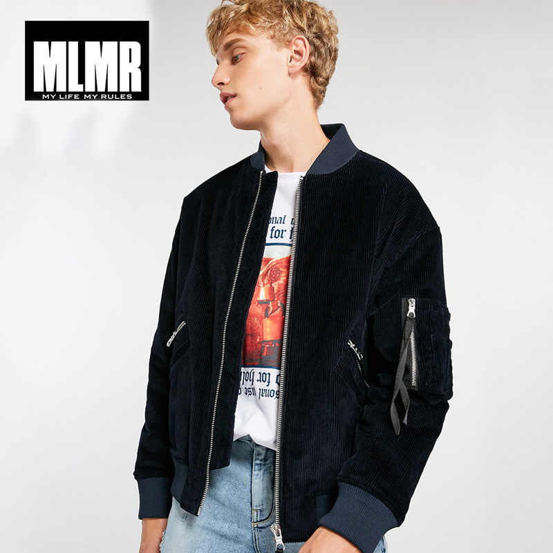 MLMR Autumn Winter menretro corduroy baseball collar cotton jacket Coat   218309530