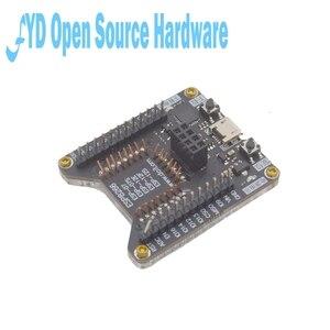 Image 3 - Esp8266 suporte de teste queimador de um clique suporte para download ESP 01S ESP 12F 12e 12s 07s