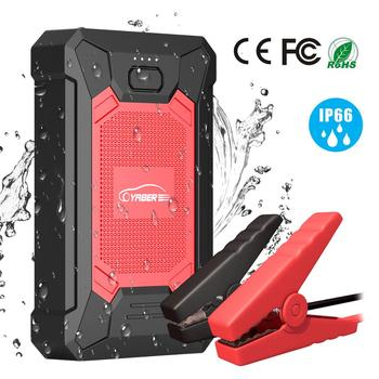 Yaber YR200 Portable 12000mAh Jump Starter Emergency Car Jump starter Battery Power Bank Auto Booster Peak 800A image