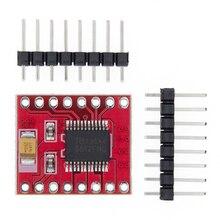 Tb6612 driver duplo do motor 1a tb6612fng microcontrolador melhor do que l298n para arduino