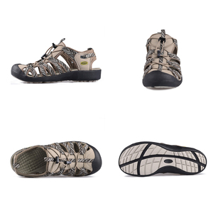 Image 2 - Gritation sandales de plage pour femmes, chaussures dextérieur, respirantes, de Sport, en caoutchouc, légères, de randonnée, décontracté