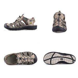 Image 2 - Grition sandálias femininas praia verão respirável toecap esporte ao ar livre sapatos de borracha leve feminino casual conforto caminhadas sandálias