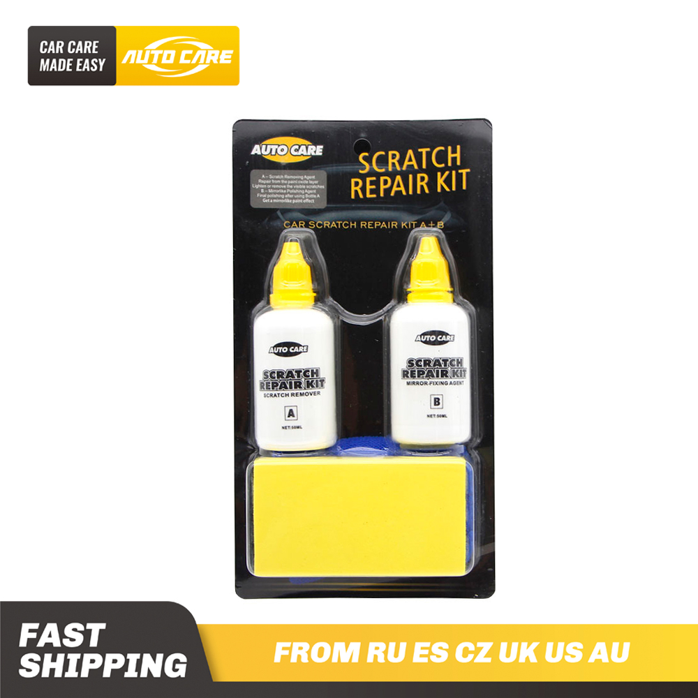 Car Paint Scratch Remover Set removes small scratches and marks suitable for all types of lacquer silicone free smooth action Paint Cleaner     - title=