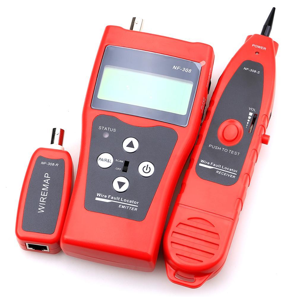 Cruiser RJ11/RJ45/cat/égorie 5/r/éseau t/él/éphonique Tracker fil Toner Tracer Ethernet UTP c/âble r/éseau LAN Testeur D/étecteur de ligne Finder
