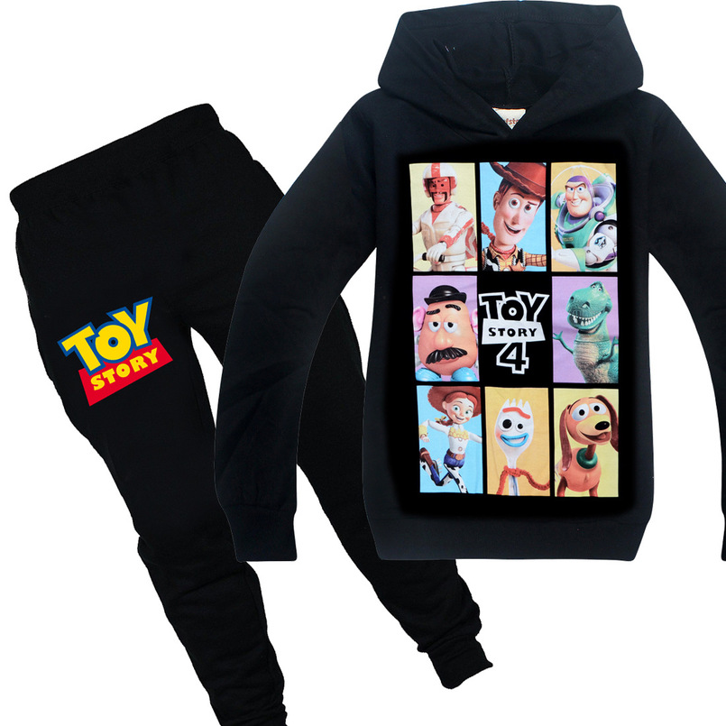 Toy-Story-Clothes Tracksuits Pants Hoodies T-Shirts Girls Tops Kids-Sets Minecraft Long-Sleeve