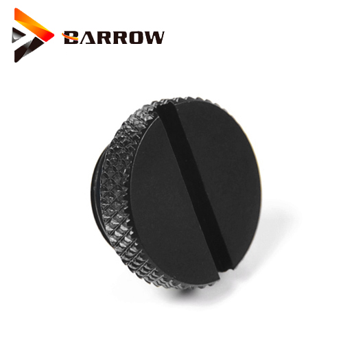 Barrow Reservoir Pump Water Plug Fittings Cooling Stop Sealing Up Lock  White Black Silver Gold G1/4