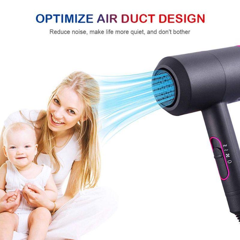 secador de cabelo quente e frio 110-240 v máquina martelo