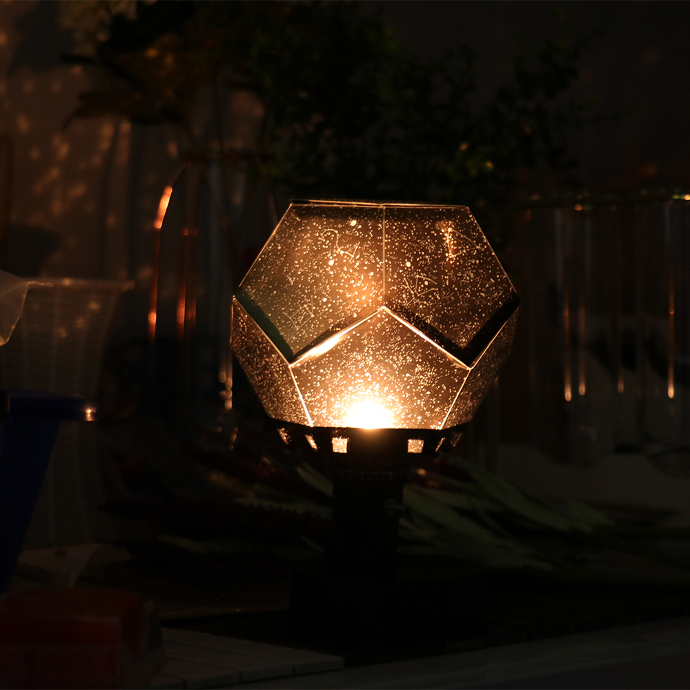 Moonlight Light Romantic DIY Master LED Star Sky Projector Lamp Projection Cosmos LED Night Lamp Kid's Gift Home Decoration
