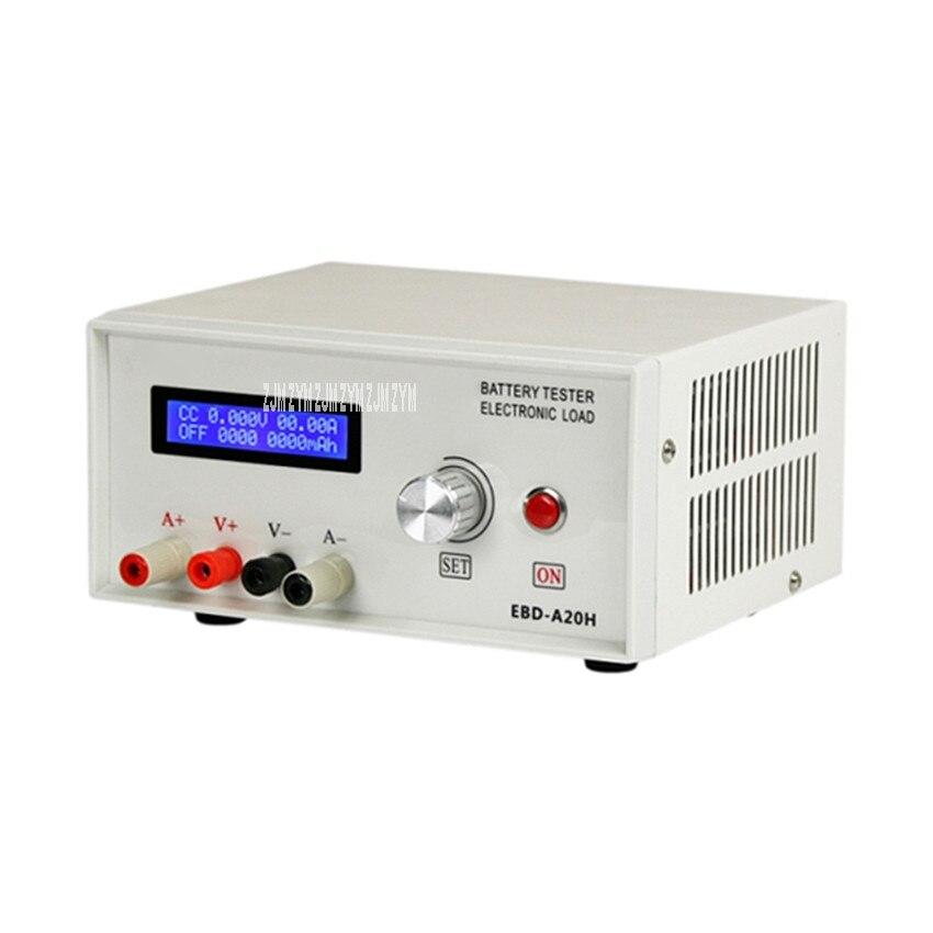 EBD A20H электронная нагрузка Емкость Батареи Источник питания зарядная головка тестер разрядное оборудование Измеритель Расхода