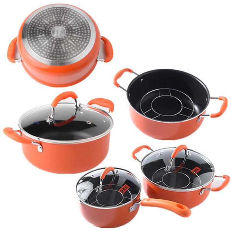 Soup Pot Milk Pot Non-stick Pan Baby Food Supplement Pot Cooker Cookware  Cooking Pots And Pans Set  Cooking Pan Frying Pan