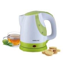Электрический чайник Max 0.9L, умный чайник для кипячения воды, водонагреватель, водонагреватель, автоматическое дно, тепловой чайник, водоварка, 3 цвета