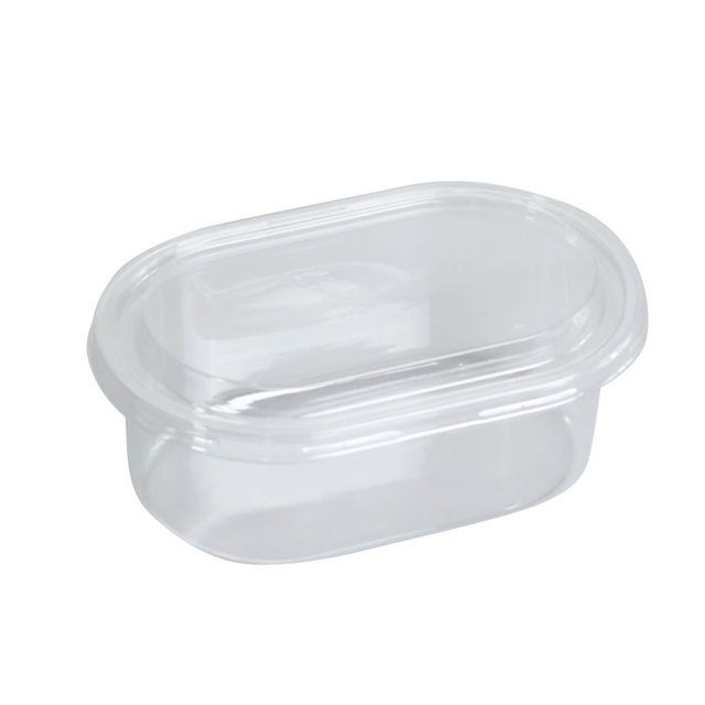 Tiramisu – boîte à gâteaux Tiramisu en plastique PET, haute qualité, 500ml, transparent, pour pudding, gelée, yaourt, salade, dessert, avec couvercles, 50 pièces