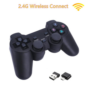 Image 2 - 2.4G Wireless Gamepad For PS3 / PC / Android / TV Box Game Controller Joystick For Phone Controller With Micro USB Or Type C