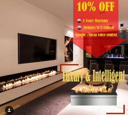Hot Koop 18 Inches Biobrandstof Haard Muur Insert Remote Wifi Controle Brander