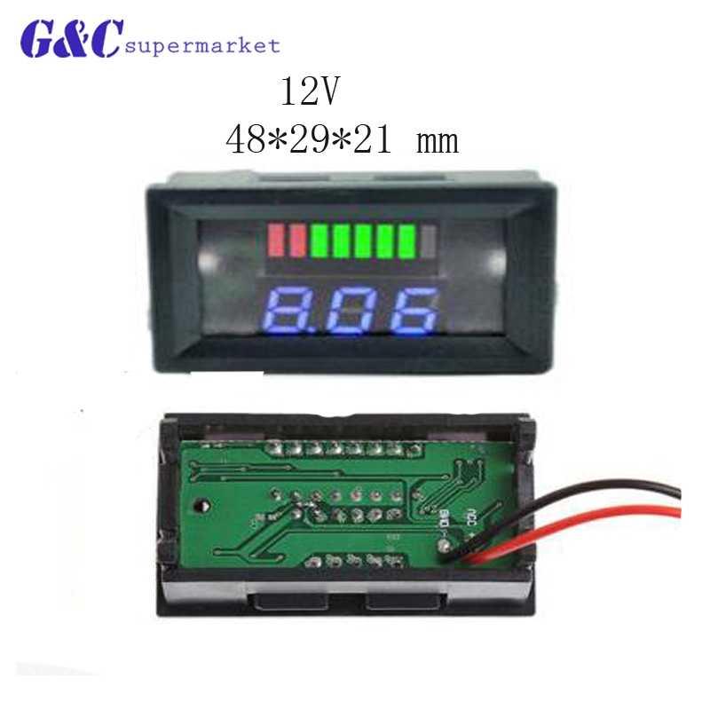 0.56/0.36/0.28 ミニデジタル電圧計電流計 100V 10A パネルアンプ電圧電流計テスター検出器デュアル LED ディスプレイ車