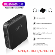 KEBIDU Drahtlose Bluetooth 5,0 Empfänger Sender CSR8675 HD AptX LL 3,5mm Aux Jack/RCA/SPDIF für TV auto RCA 3,5 Audio Empfänger