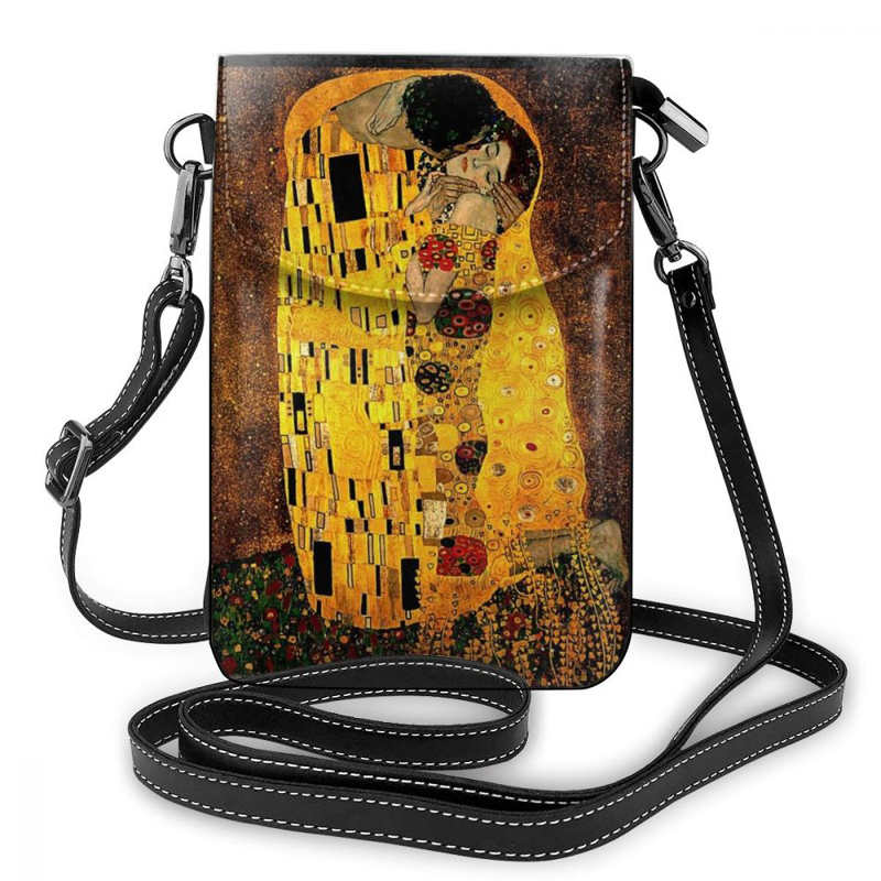 Klimt Shoulder Bag Klimt Leather Bag High quality Multi Function Women Bags Crossbody Teenage Print Slim Purse