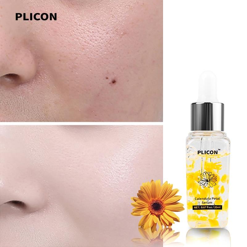 PLICON Calendula Petal Face Serum Facial Skincare Hyaluronic Acid Nicotinamide Repaire Skincare Moisturizing Serum Face 20ml