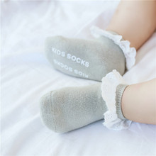 Socks Clothes-Accessories Newborn Bebe Cheap Stuff Baby-Girl-Boy Lace Anti-Slip Floor