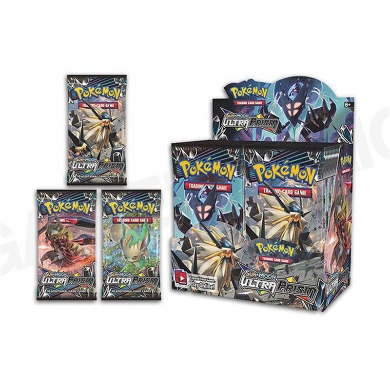 364pcs card Pokemon TCG: Sun & Moon Forbidden Light Booster Sealed Box Collectible Trading battle pokemon Card Set Child Toys image