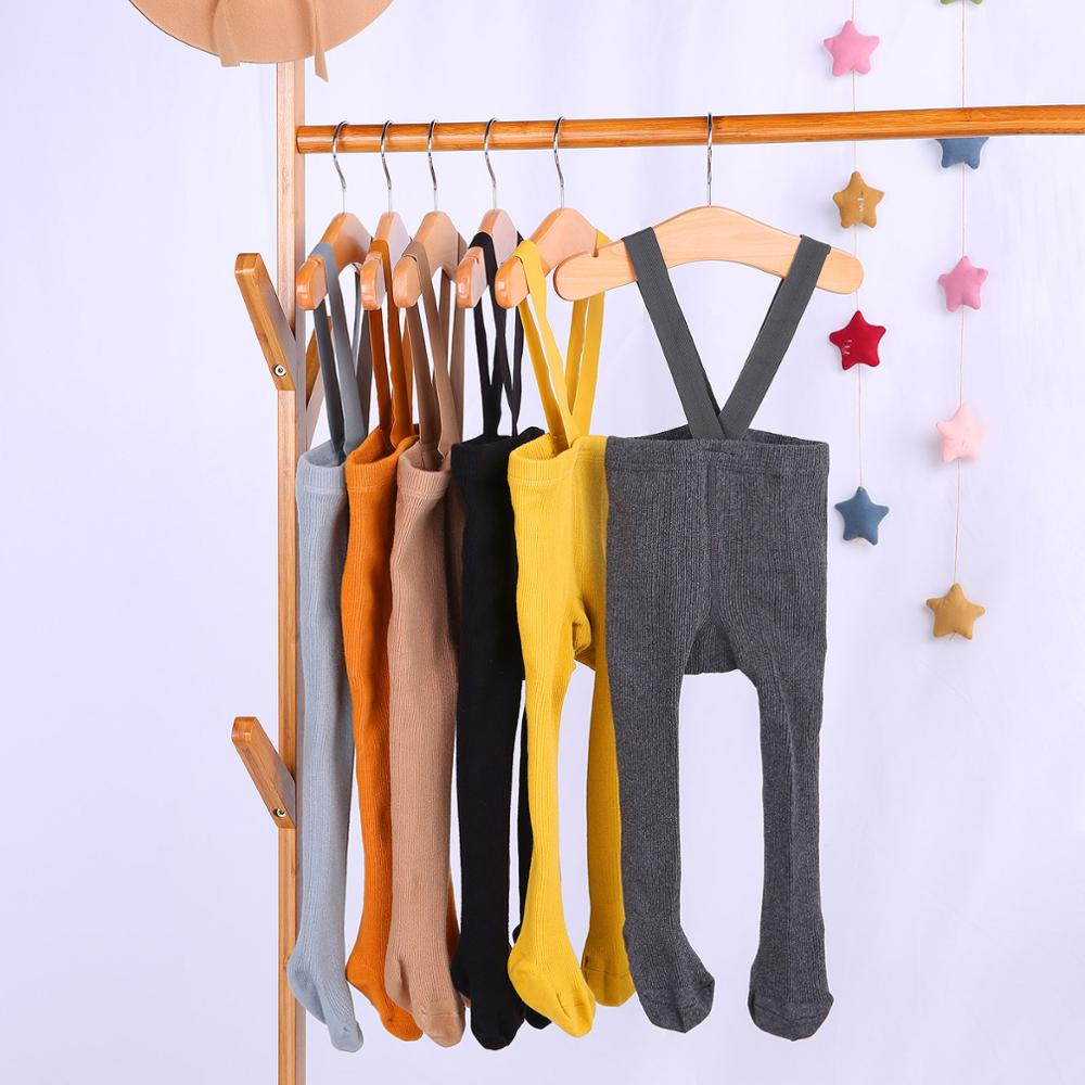 Overall-Leggings Suspender Bandage Pantyhose Spring Baby-Girls Infant Autumn High-Waist