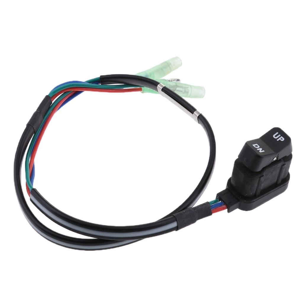 87-18286A43 interruptor de ajuste de elevación de Control lateral de coche para Mercury Mariner Outboard Box