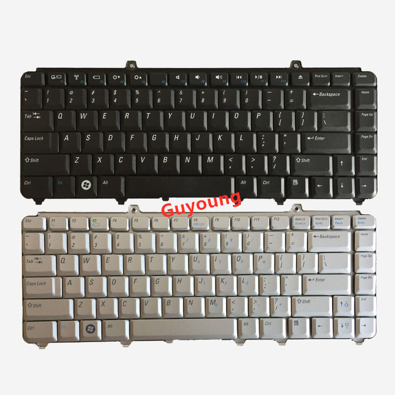 Laptop Keyboard For Dell Inspiron 1400 1520 1521 1525 1526 1540 1545 1420 1500 XPS M1330 M1530 NK750 PP29L M1550 US English