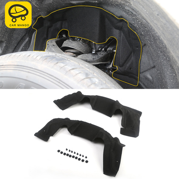 CARMANGO for Nissan Patrol Y62 2pcs Auto Car-styling Front Tire Inner Fender 4.0L Accessories