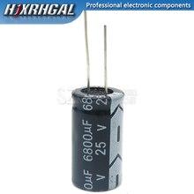 1PCS 25v6800uf 6800uf25v 16*31 25v 6800uf 16x31 Electro Electrolytic capacitor