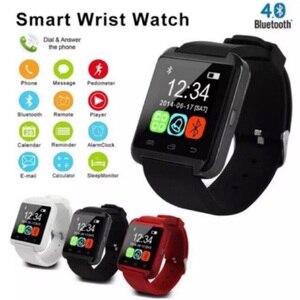 Смарт-часы с Bluetooth, Смарт-часы U8 для IPhone, IOS, Android, смарт-телефон, часы для ношения, устройство Smartwach PK GT08 DZ09 A1