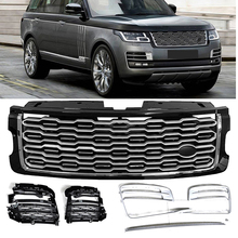 6 pieces front grille mesh grill for Land Rover Range Rover SV Autobiography SVA 2018 2019 front mesh vent