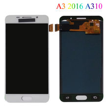 "4.7"" LCD For Samsung Galaxy A3 2016 A310 A310F A310H A310M A310Y LCD Display Touch Screen Panel Digitizer LCD Assembly Replace(China)"