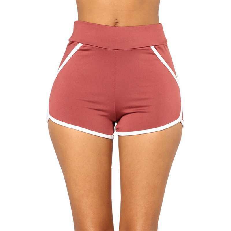 LASPERAL 野生のビーチ女性カジュアル野生ショーツ無地ストレートショーツセクシーな夏のファッションスリムフィット外側摩耗ショートパンツ