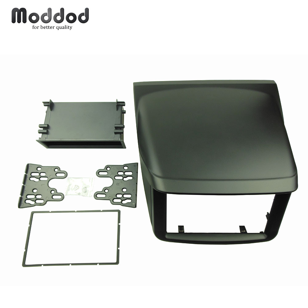 For <font><b>Mitsubishi</b></font> Pajero Sport Triton L200 Radio DVD Stereo Panel Dash Mounting Installation Trim Kit Face Frame Fascia with box image