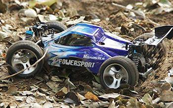None Wltoys A959 Vortex 1/18 2.4G 4WD Electric RC Car Off-Road Independent Suspension Buggy RTR-Blue