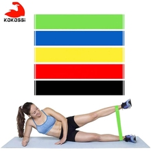 Rubber-Bands Training Fitness Workout Yoga-Resistance Sport Gum Pilates Crossfit Kokossi