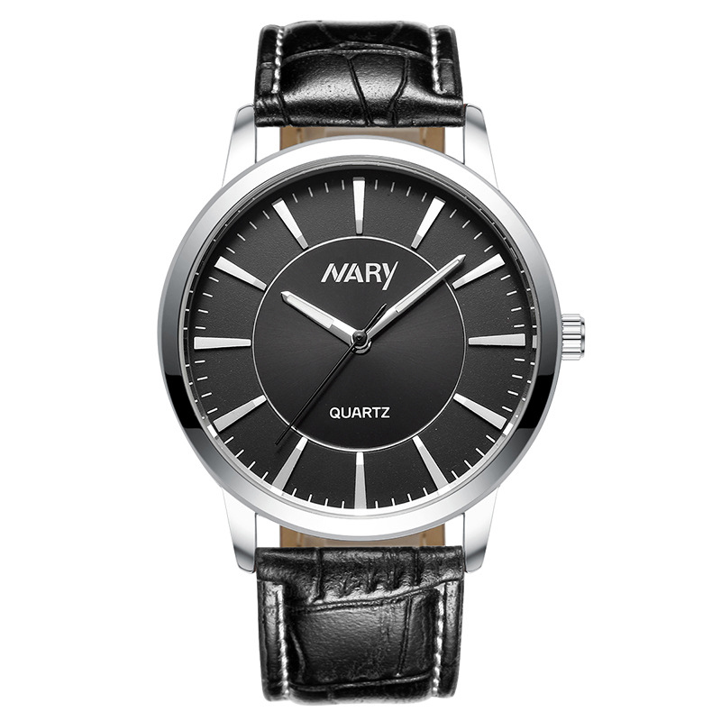 2018 Fashion Men Watches Nary Top Brand Luxury Qaurtz Watch Men Women Leather Watch Fashion Lover's Watches Couple Watches Gift