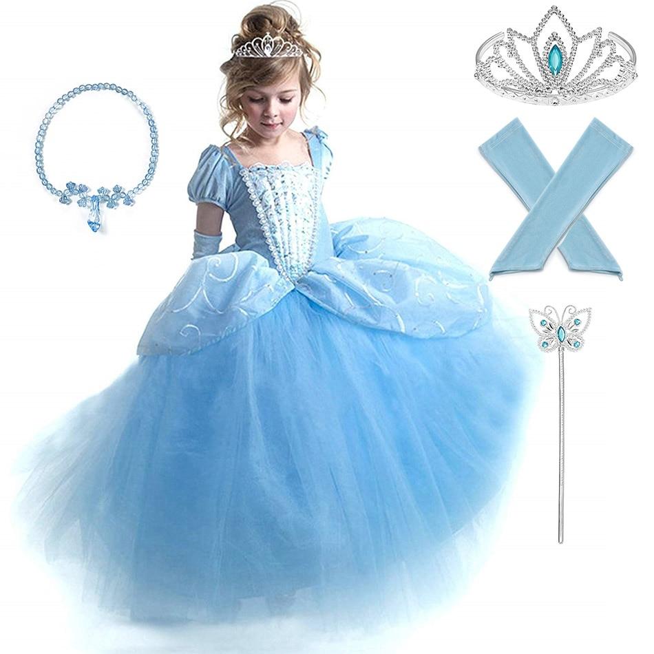 Robe Enfant Cendrillon Shopping Beb30 92203