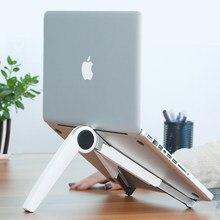 Tragbare Faltbare Laptop Unterstützung Laptop Stand Tablet PC Unterstützung Heizkörper Schutz Halswirbel Desktop Erhöhung Sitz