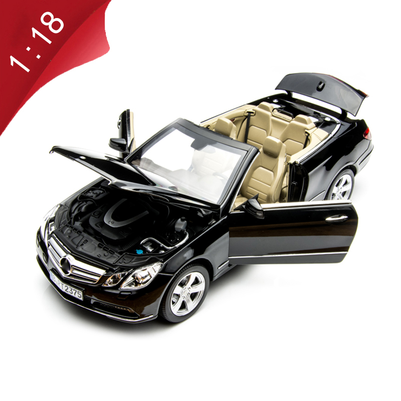 1:18 Scale 2010 S Series Sports Car Simulation Alloy Die-casting Car Model Child Adult Collection Gift Indoor Display