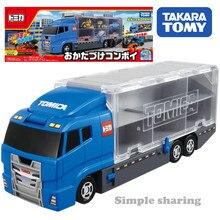 Takara Tomy Tomica dünya koymak kapalı konvoy ile takip araba oyuncak Pop çocuklar sihirli komik eğitici kalıp