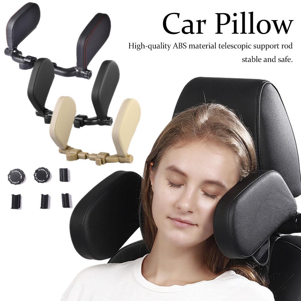 3th Generation Car Seat Headrest Comfort Memory Foam Pad Car Seat Neck Pillow Sleep Side Head Support On Sides For Kids Adults