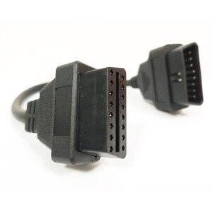 Image 5 - كابل تمديد عالمي OBD2 للسيارة ، أداة تشخيص السيارة ، 16 سنًا ، 30 سنتيمتر ، OBDII ، OBD 2 ، EOBD
