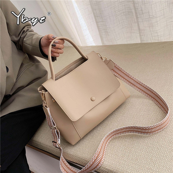 YBYT fashion simple women handbag large capacity totes bag high quality PU leather ladies shoulder crossbody bag bolsas feminina women bag big capacity female color blocking handbag fashion shoulder bag purse ladies pu leather crossbody bag